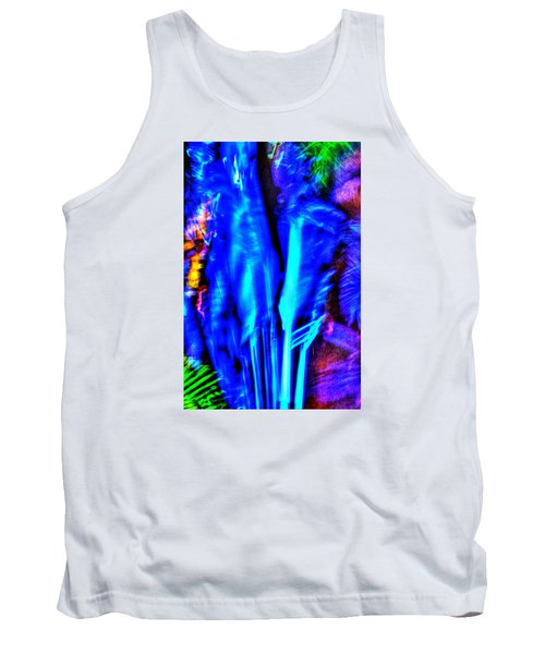 Tank Top featuring the photograph Tropical Lightshow  by Richard Ortolano