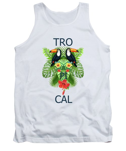 Tropical Summer  Tank Top