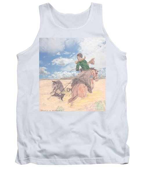 Trouble In Bunches Classic Tank Top