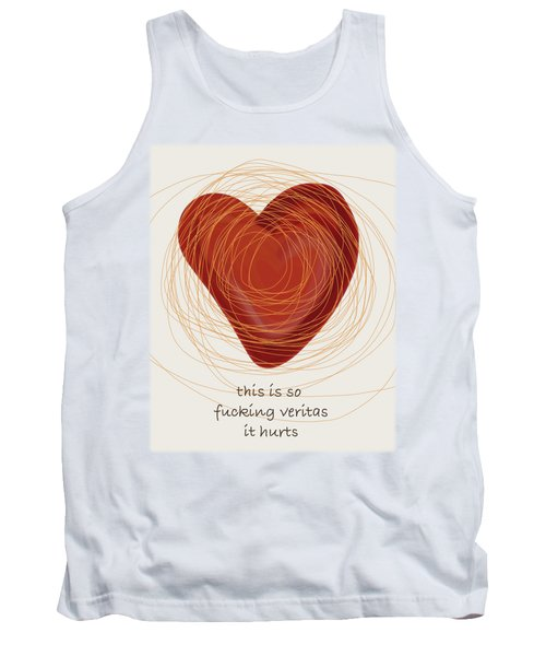 Tank Top featuring the painting True Love by Frank Tschakert