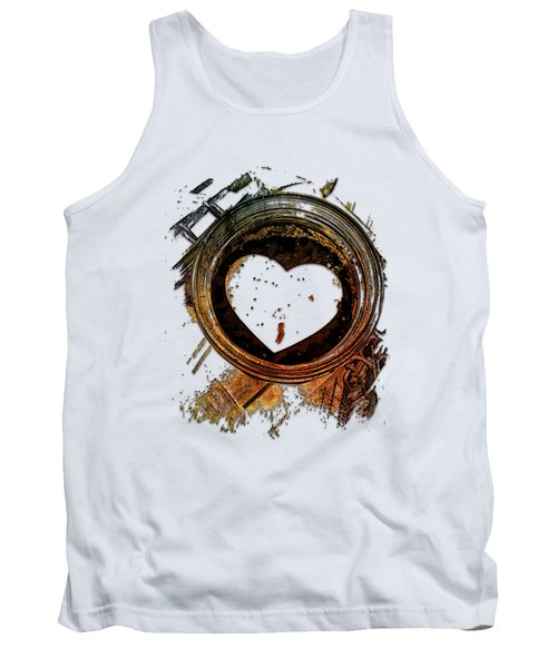 True Love Grows Earthy Rainbow 3 Dimensional Tank Top