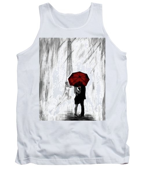 Tank Top featuring the painting Truly All Yours by Leslie Allen