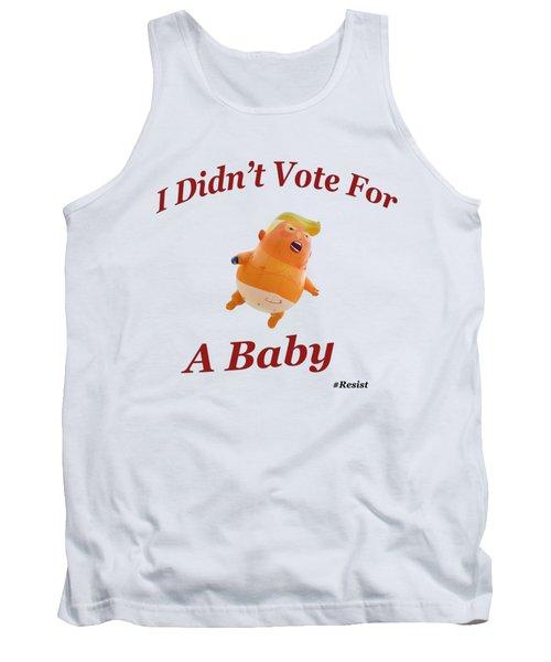Trump Baby Blimp Tank Top