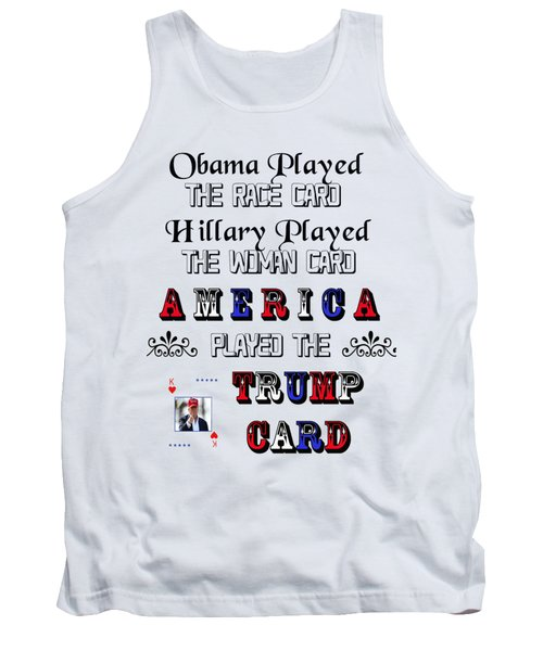 Trump Card Tank Top