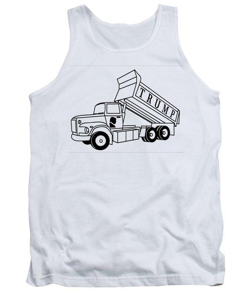 Trump Dump Truck Tank Top