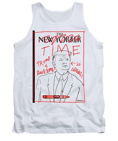 Trump Time Tank Top