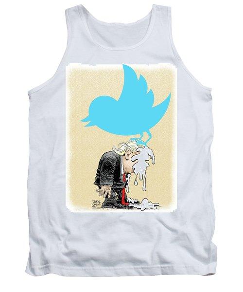Trump Twitter Poop Tank Top