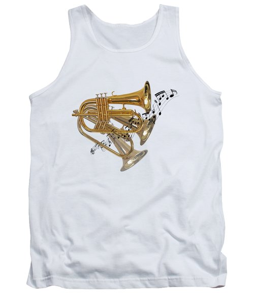 Trumpet Fanfare Tank Top