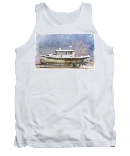 Tugboat Tank Top by Cynthia Powell
