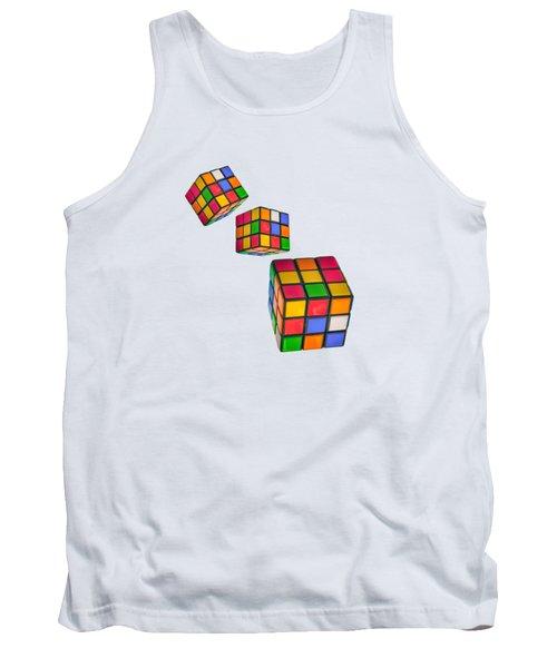 Tumbling Cubes Tank Top