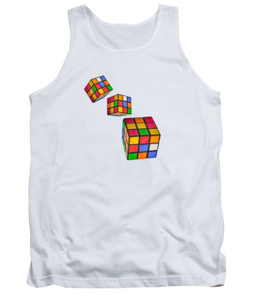 Tumbling Cubes Tank Top