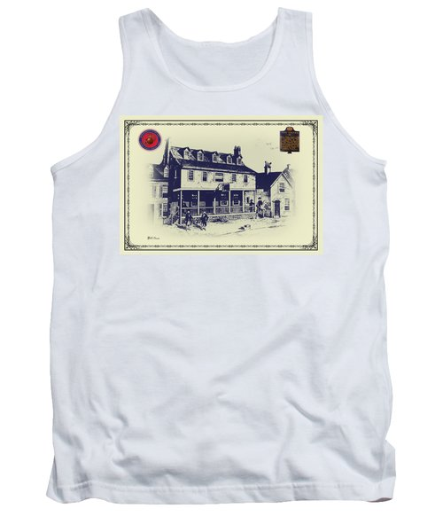Tun Tavern - Birthplace Of The Marine Corps Tank Top