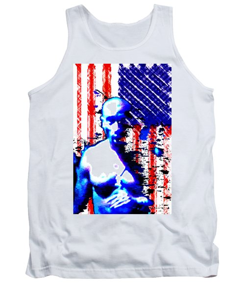 Tupac N America Tank Top