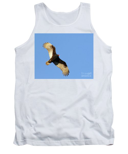 Tank Top featuring the photograph Turkey Vulture by Debbie Stahre