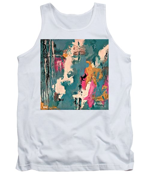 Turquoise Reflections No. 1 Tank Top