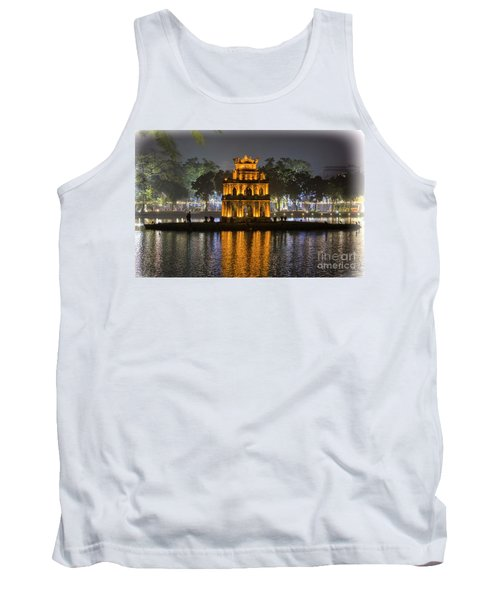 Turtle Tower IIi Hanoi Tank Top