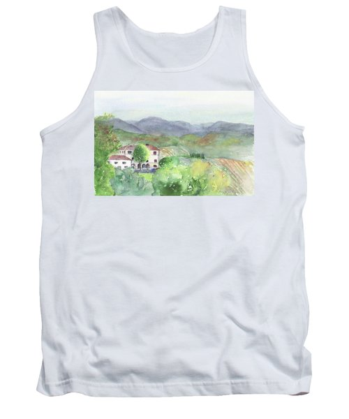 Tuscan Vineyards Tank Top