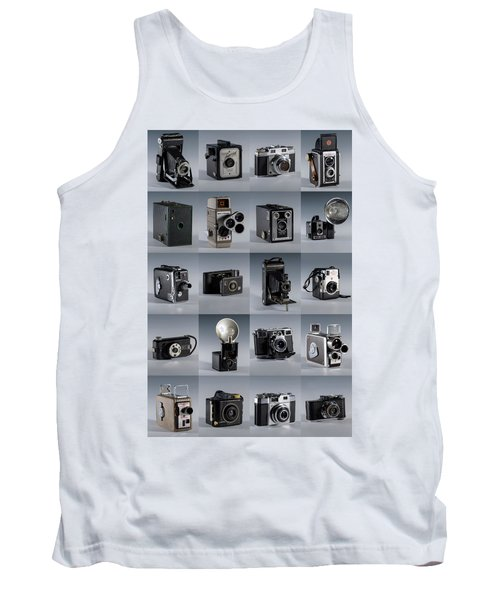 Twenty Old Cameras - Color Tank Top