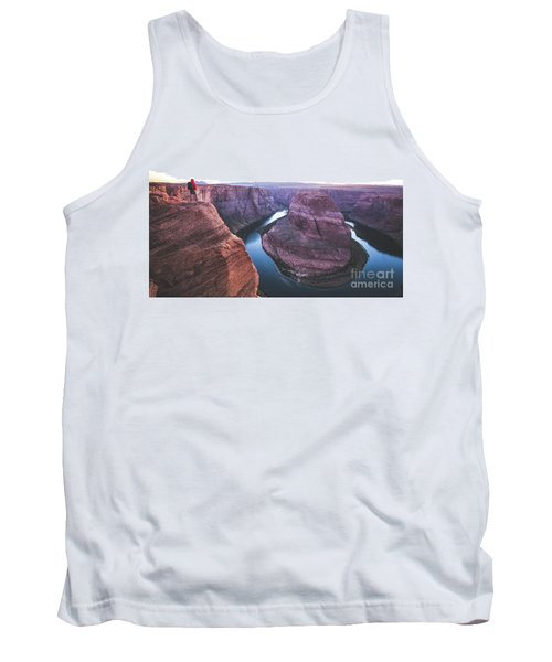 Twilight At Horseshoe Bend Tank Top by JR Photography
