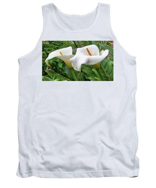 Twin Calla Lilies Tank Top