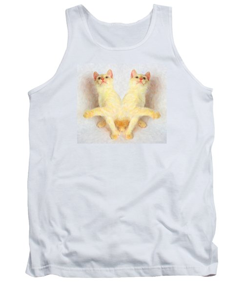 Twin Cats Tank Top