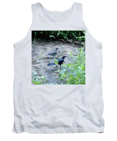 Tank Top featuring the photograph Two Birds by Felipe Adan Lerma