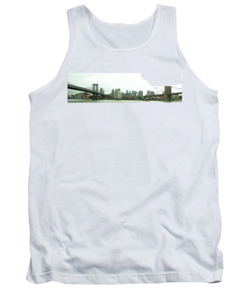 Tank Top featuring the photograph Two Bridges by Robert Knight
