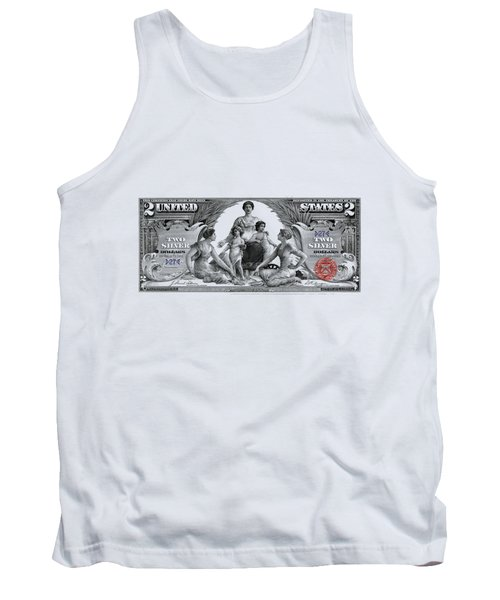 Two Dollar Note - 1896 Educational Series  Tank Top