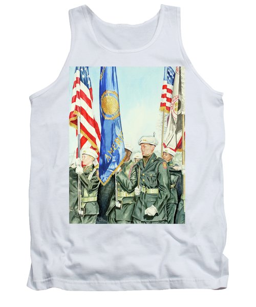 Two Months After 9-11  Veteran's Day 2001 Tank Top