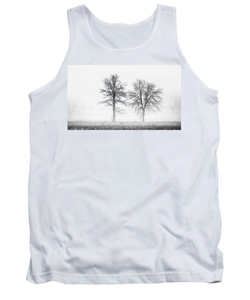 Tank Top featuring the photograph Two... by Nina Stavlund