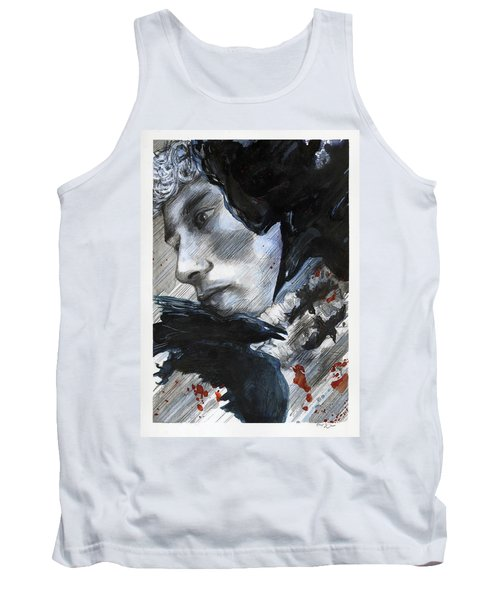 Two Ravens Bringing Blood To The Skies  Tank Top