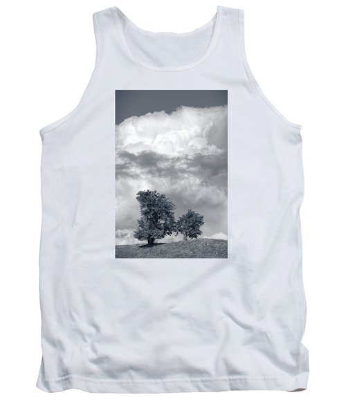 Two Trees #9249 Tank Top by Andrey Godyaykin
