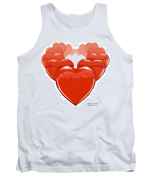Two Will Become One Tank Top by Thomas J Herring