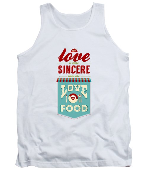 Typography Art Quotes Poster Tank Top