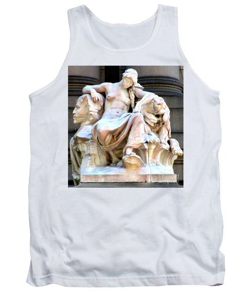 U S Custom House 3 Tank Top by Randall Weidner
