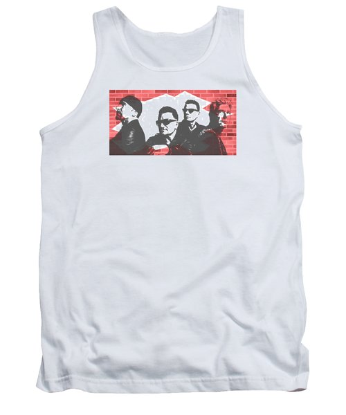 U2 Graffiti Tribute Tank Top by Dan Sproul