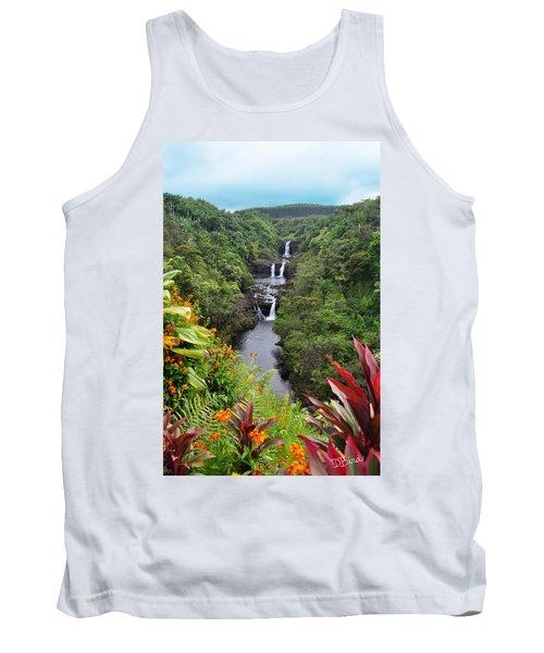 Umauma Falls Hawaii Tank Top