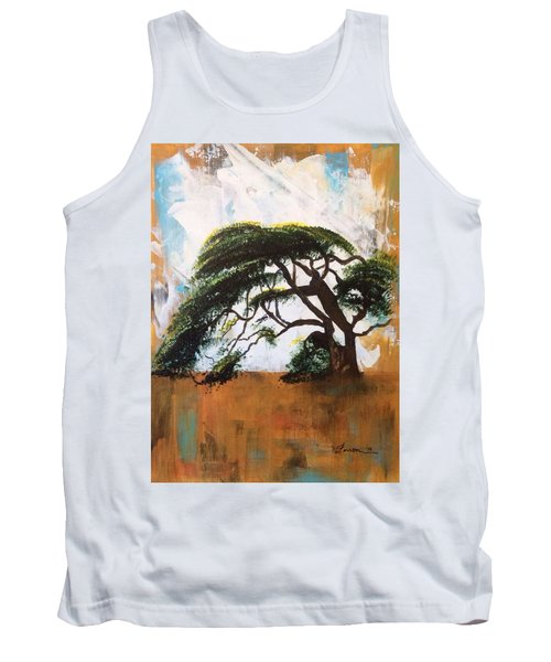 Tank Top featuring the painting Unbreakable by Patti Ferron