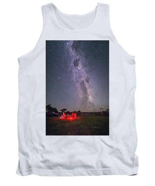 Under Southern Stars Tank Top by Alex Conu