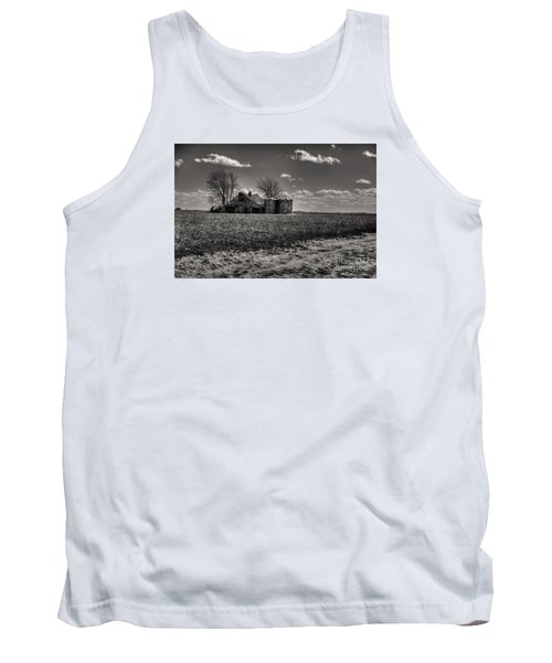 Tank Top featuring the digital art Under The Crush Of The Lowering Sky by William Fields