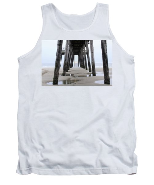 Under The Pier Tank Top by Sharon Batdorf