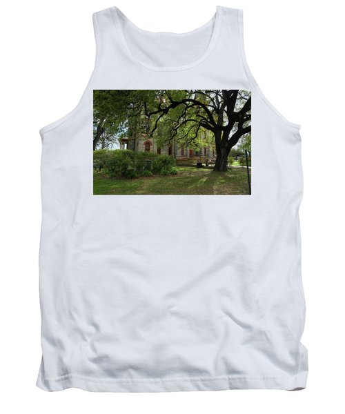 Tank Top featuring the photograph Under The Tree F5622a by Ricardo J Ruiz de Porras