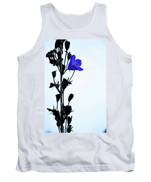 Unique Flower Tank Top by Teemu Tretjakov