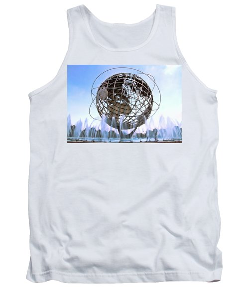 Unisphere With Fountains Tank Top