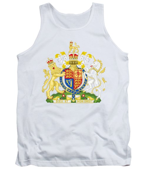 United Kingdom Coat Of Arms Tank Top