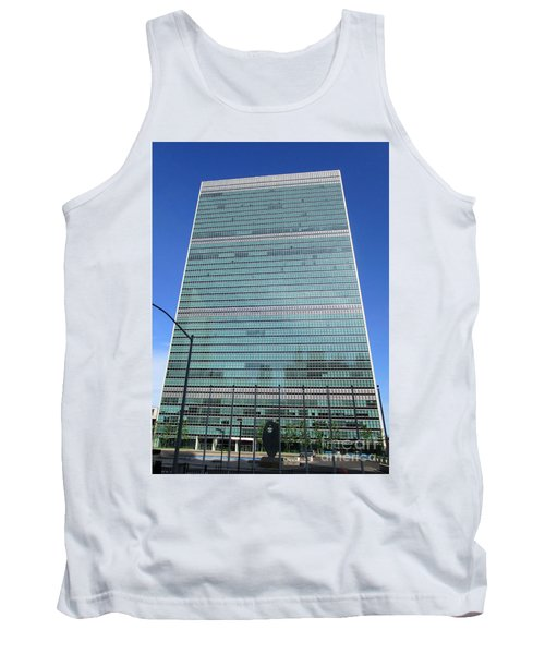 Tank Top featuring the photograph United Nations 3 by Randall Weidner