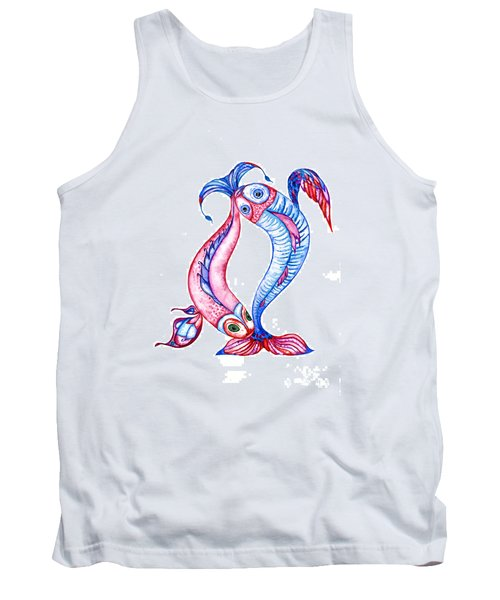 Unity Of Opposites. Perfect Couple Tank Top