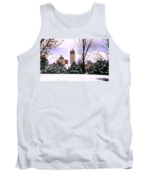 Tank Top featuring the photograph Unity Village by Steve Karol