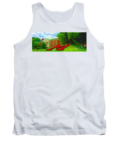 University Of Maryland  Tank Top
