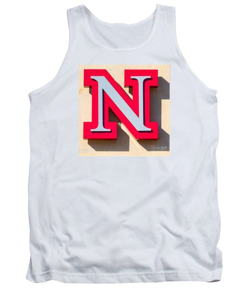 UNL Tank Top by Jerry Fornarotto